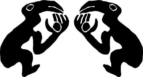 simbolo del hombre pájaro ceremonia isla de pascua huevo ave manutara islote motu nui prueba competición ariki arakiri rey drawings dibujo tangata manu kitea pinturas orongo dibujos symbols easter island acantilado humu tau rito ancestral ancentros