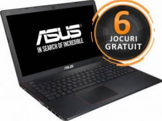 Laptop ASUS F550VX-DM102D Intel Core Skylake