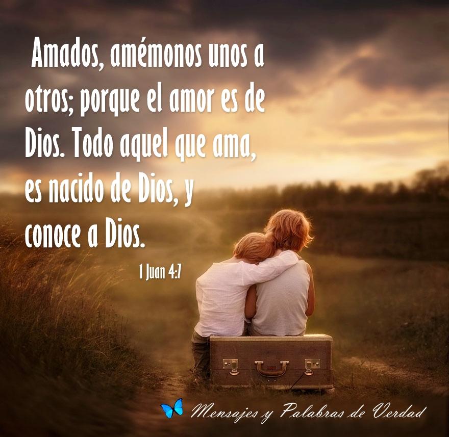 Mensajes y Palabras de Verdad: Versiculos del Amor de Dios