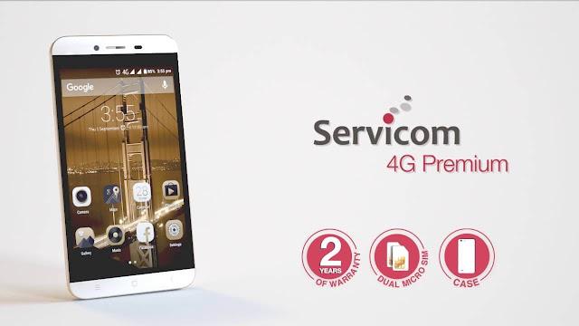 روم Servicom 4G Premium II اصدار 7.0