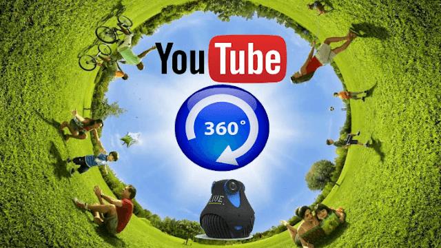يوتيوب يطلق خدمة البث المباشر للفيديو بتقنية 360 درجة