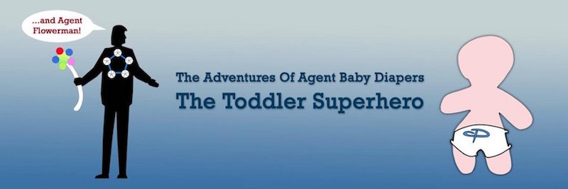 The Adventures of The Toddler Superhero