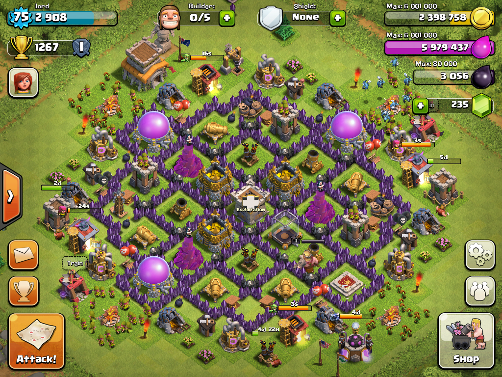 Clash Of Clans Base Designs For Town Hall 10 Town Hall 9