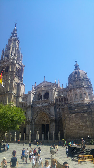 כיכר העירייה והקתדרלה בטולדו
