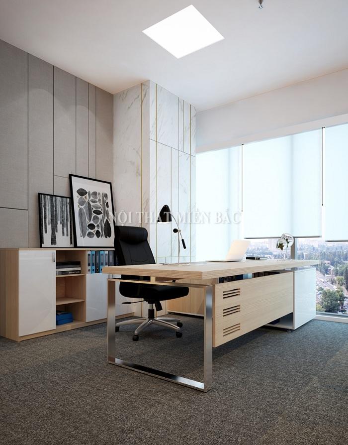 Thiết kế nội thất phòng làm việc đẹp cần chú ý kích thước nội thất và diện tích phòng