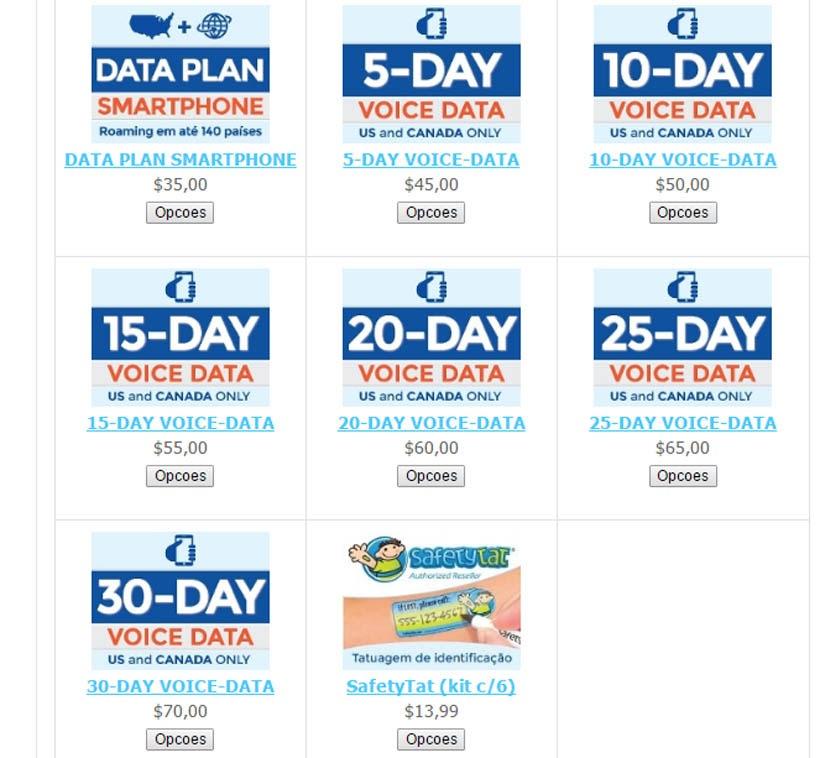 EasySim4U - Internet e celular ilimitados para usar nos Estados Unidos