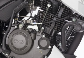 RTR 180 engine