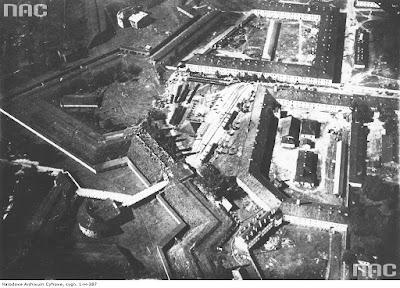 Аэрофотоснимок Бобруйской крепости 1928 г.