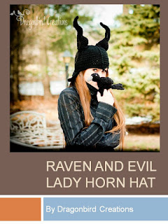 http://dragonbirdcreations.blogspot.ca/2014/03/raven-and-evil-lady-horn-hat.html