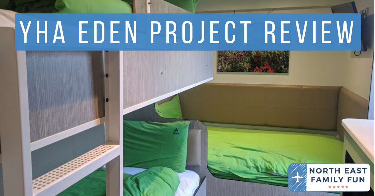 Staying in a Recycled Shipping Container at The Eden Project - YHA Eden Project Review