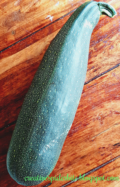 Big home grown Courgette
