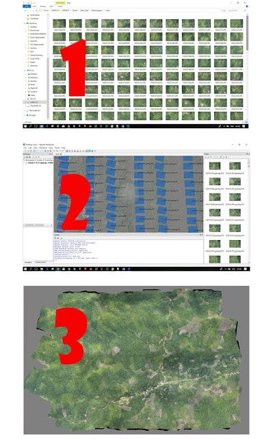 Apa Itu Mosaik Drone dan Disebut Apa Hasil Foto Drone?