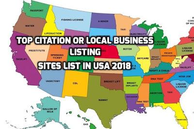 Citation sites for USA