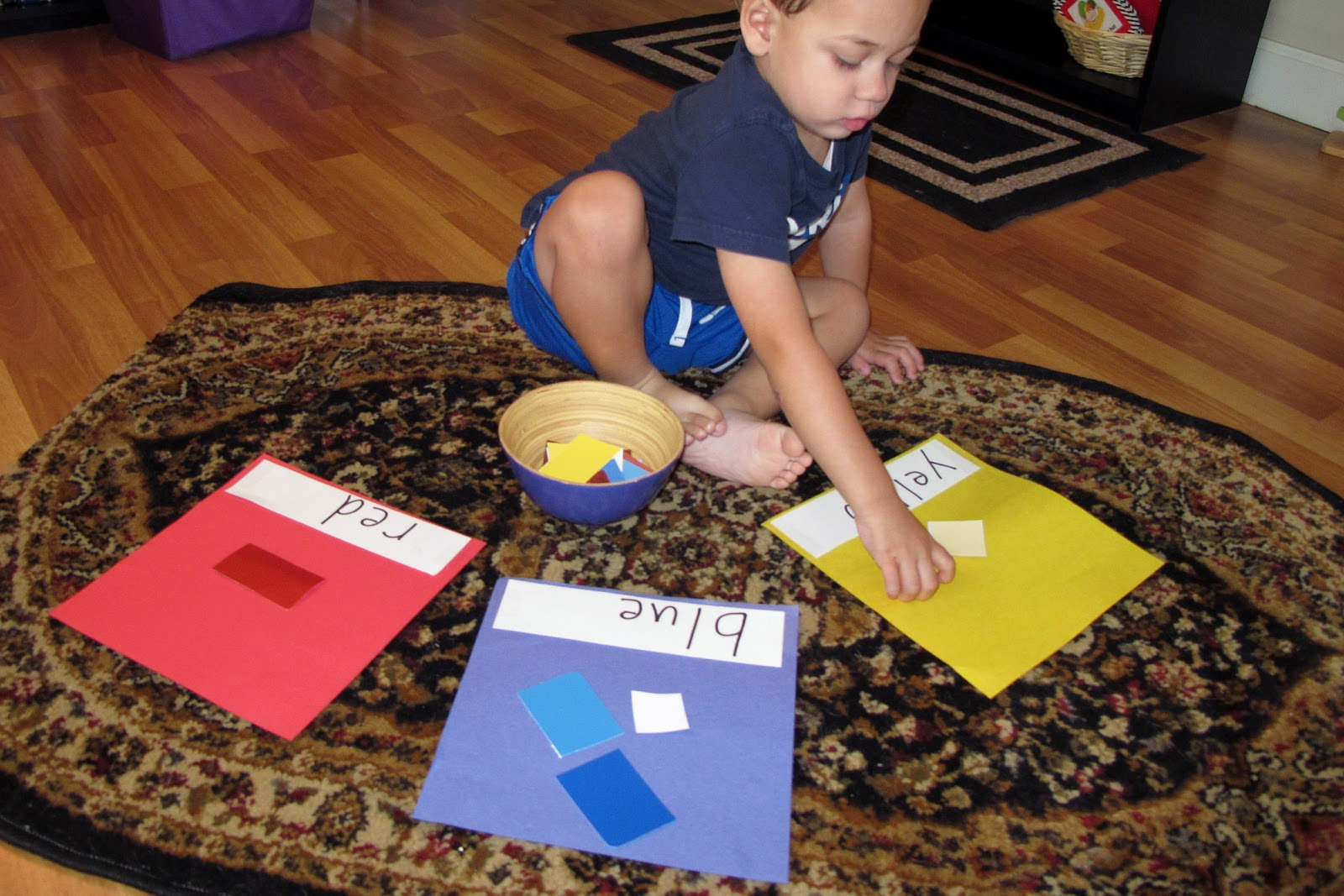 Colors That Work Well Together Peaceful Parenting The Importance Of Sorting Activities