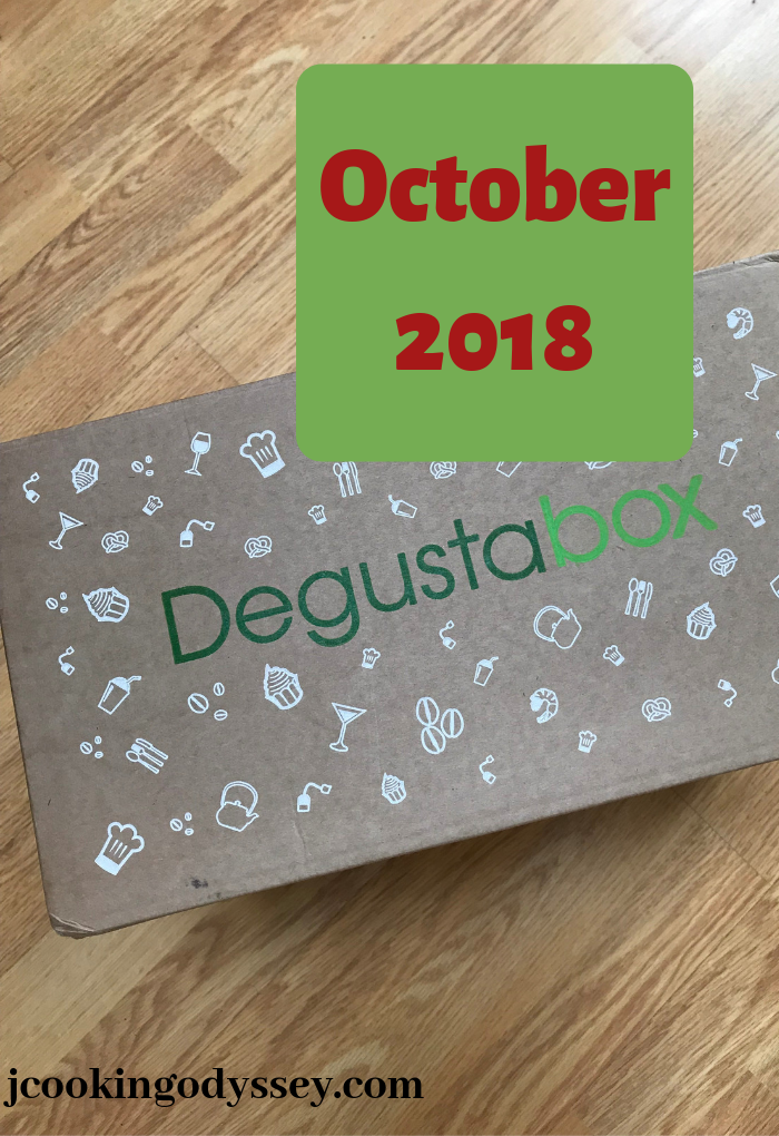 Degustabox October UK, winter warmer box