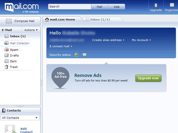 Panduan Cara Membuat Email di Mail.com