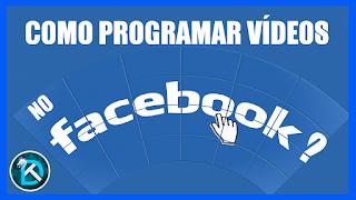 Como programar um vídeo na página do Facebook