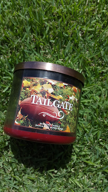 Bath & Body Works 3 Wick Candle 'Tailgate' www.modenmakeup.com