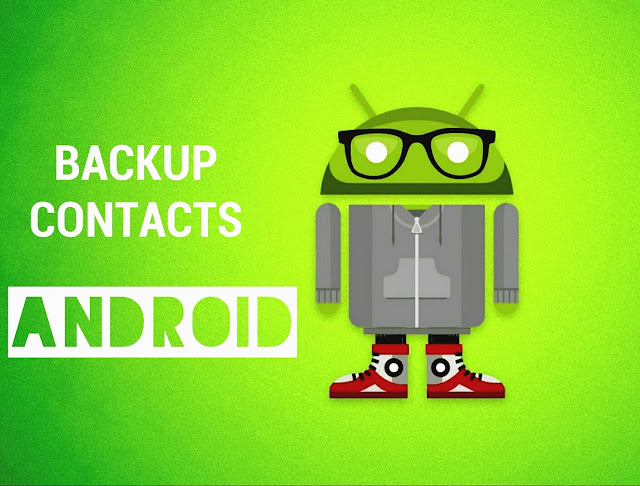 Android Contacts Backup Logo