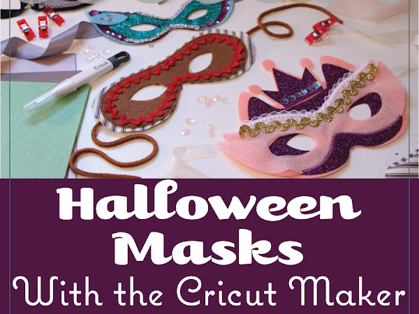 Easy DIY Halloween Masks with the Cricut Maker