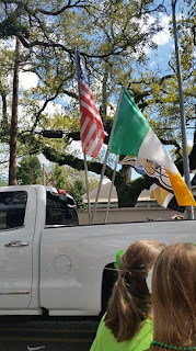 flags in pickup