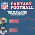 The Most Valuable Fantasy Football Players of the Last Decade