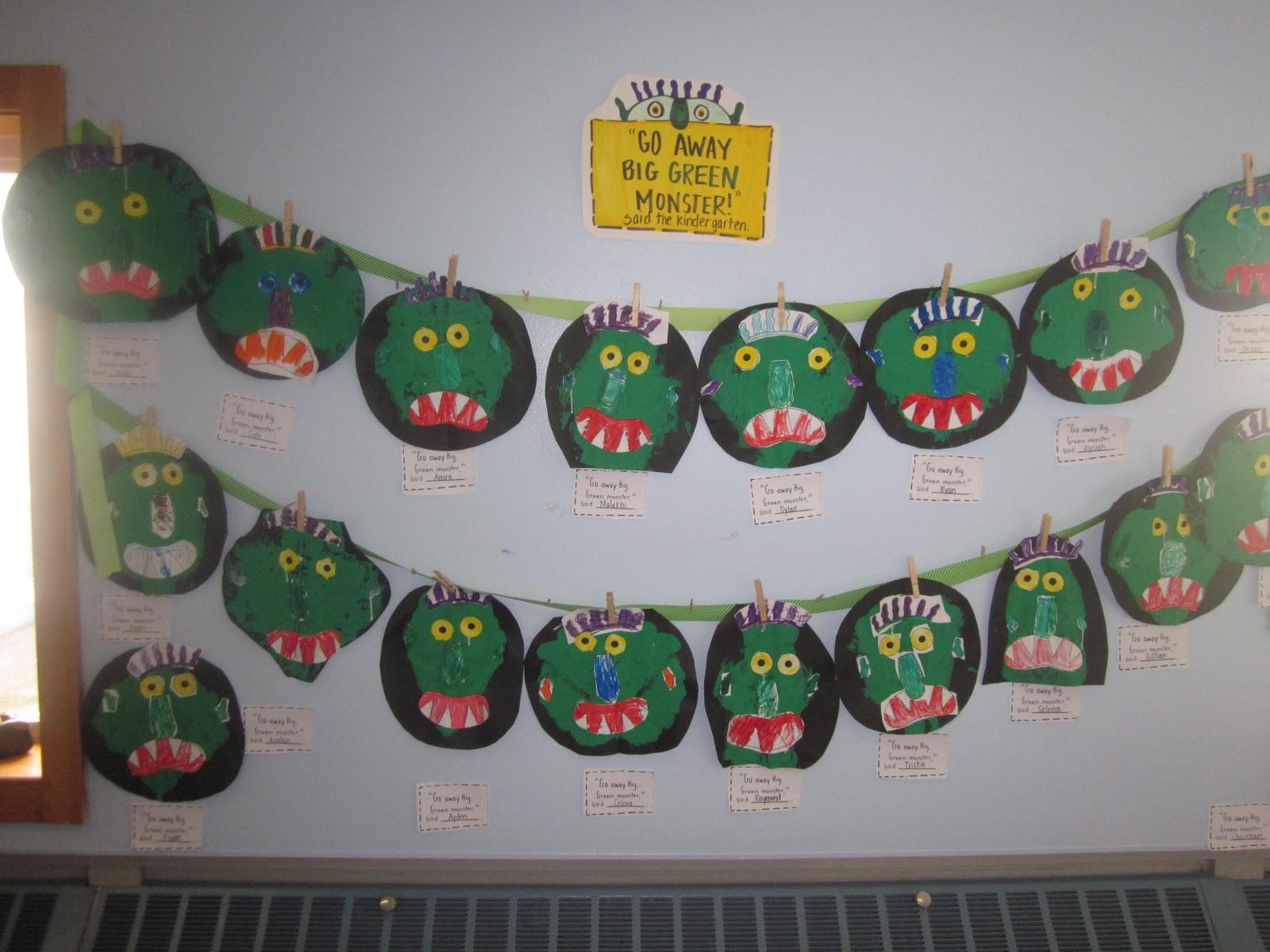 Mrs Miner S Kindergarten Monkey Business Go Away Big