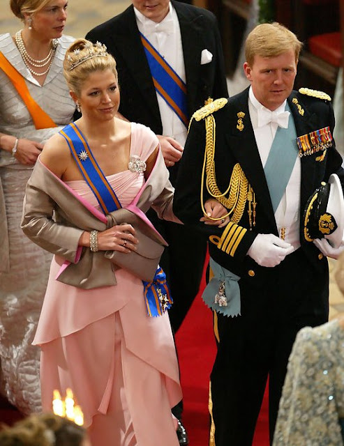 Crown Prince Frederik and Crown Princess Mary's wedding anniversary, Letizia Ortiz Rocasolano and Crown Prince Felipe, Prince Philippe and  Princess Mathilde, Crown Princess Victoria, Carl Phillip,  Princess Madeleine, Crown Prince Haakon and Princess Mette Marit, Princess Caroline and Prince Ernst August, Prince William, Princess Maxima