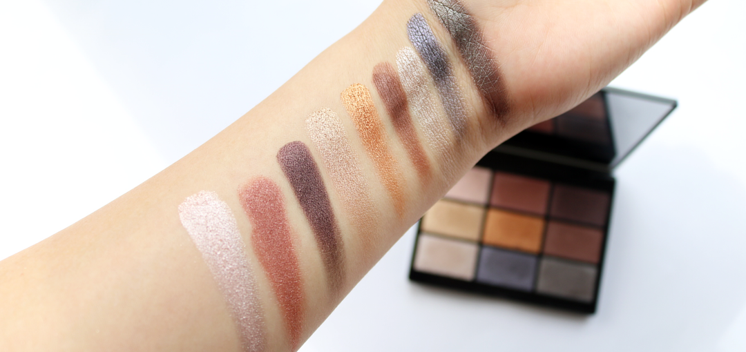 GOSH 9 Shades Eyeshadow Palette in To Party In London review