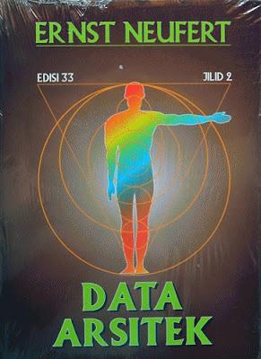 Buku ERNST NEUFERT Data Arsitek Jilid 2 - Griya Bagus