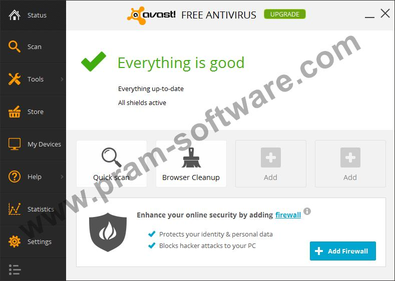 Screenshot Avast