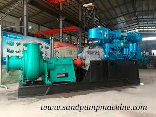 marine sand suction pump
