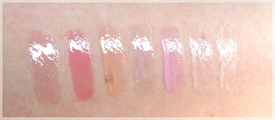 essence lip candies Swatches