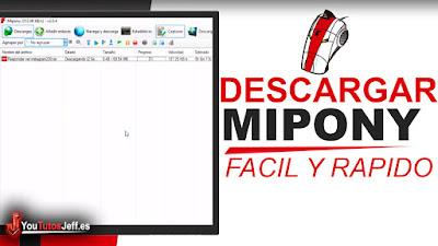descargar mipony, como descargar mipony, mipony ultima version, mipony full español