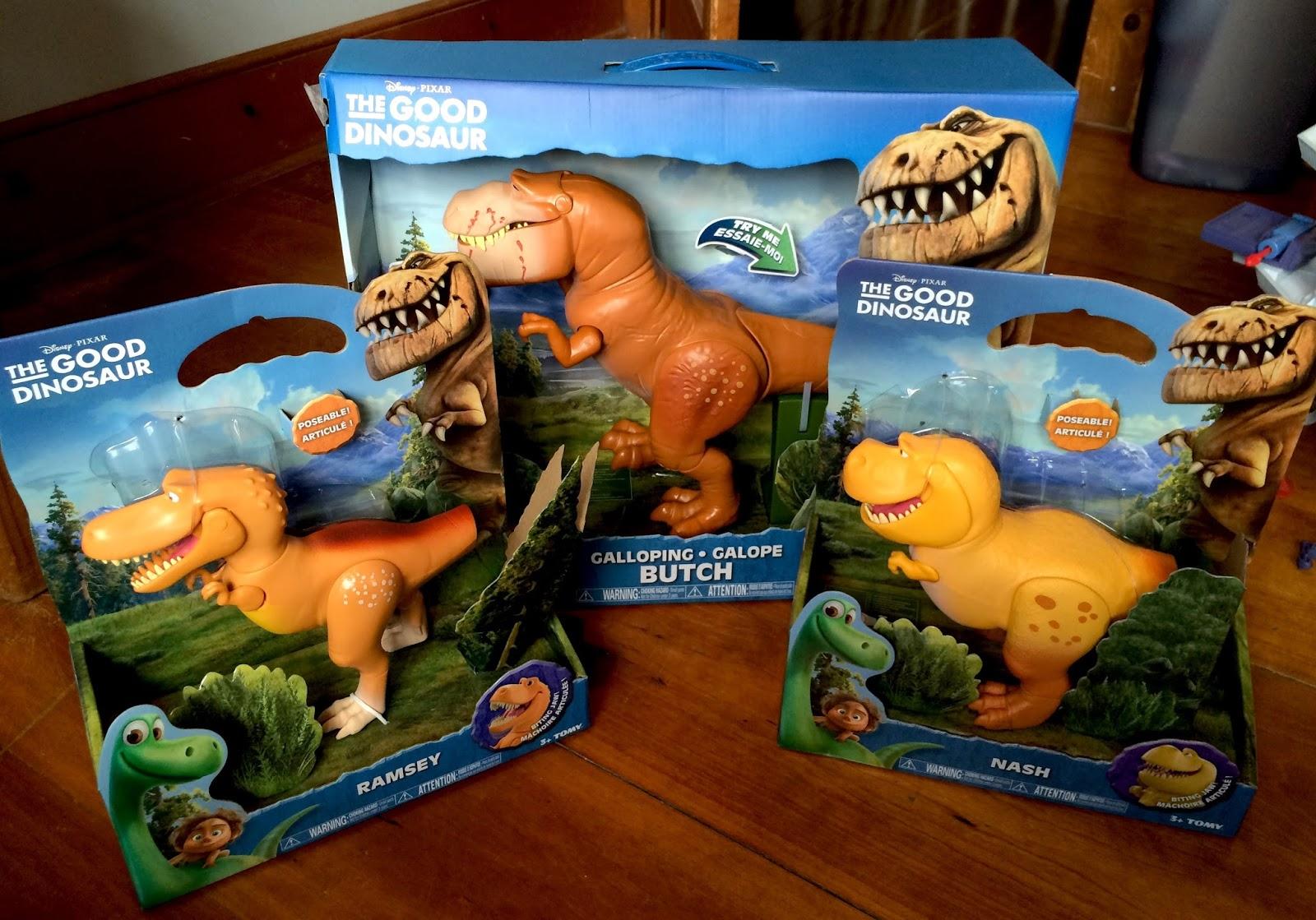 Dan the Pixar Fan: The Good Dinosaur: TOMY Action Figures