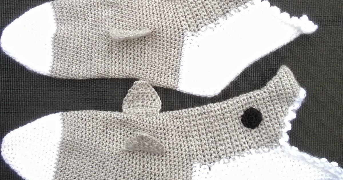Minervas Handarbeit Hai Socken