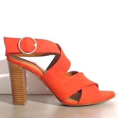 Sandales 96 Rivecour orange