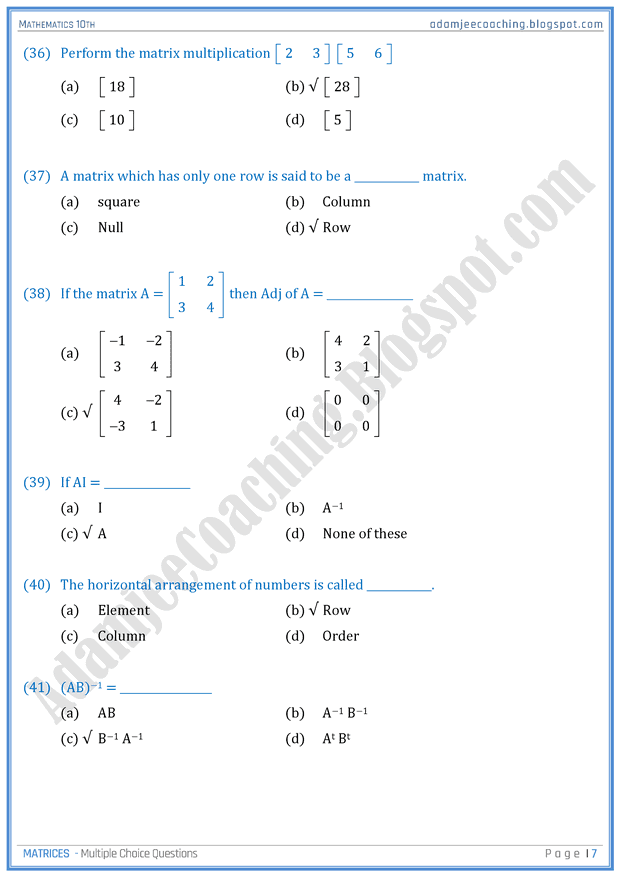 mathematics 10th class How to pass a math class math is not as daunting as it seems it's all about following simple rules repeated use of these rules.