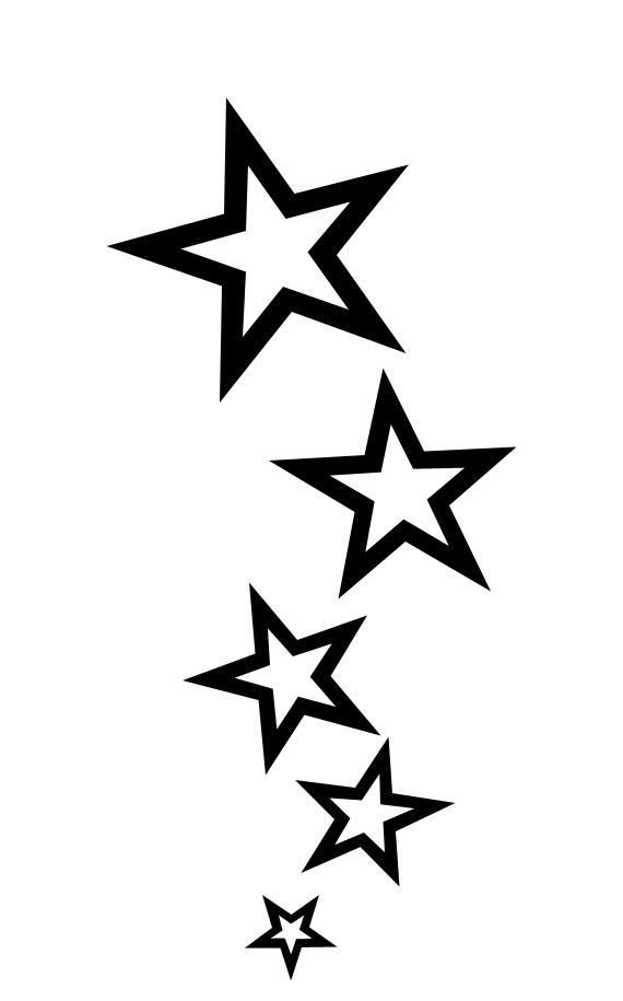 star tattoo design by trogdor7