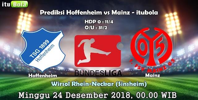 Prediksi Hoffenheim Vs Mainz - ituBola