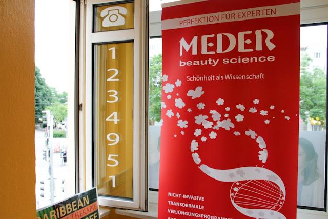 Клиентский день Meder Beauty Science в Мюнхене (в салоне [a]+k)