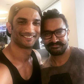 Sushant Singh Rajput share photo with Aamir Khan on Instagram