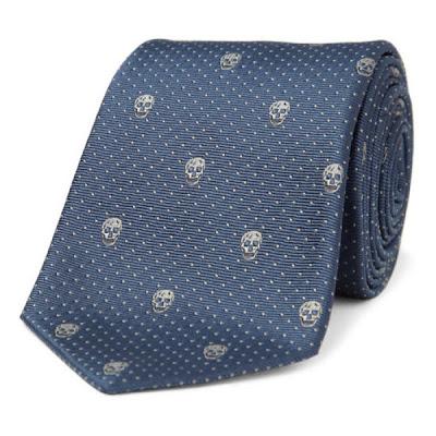Corbata de calavera