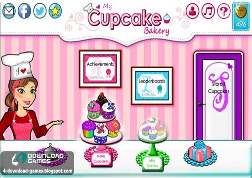 لعبة مخبز كب كيك My Cupcake Bakery