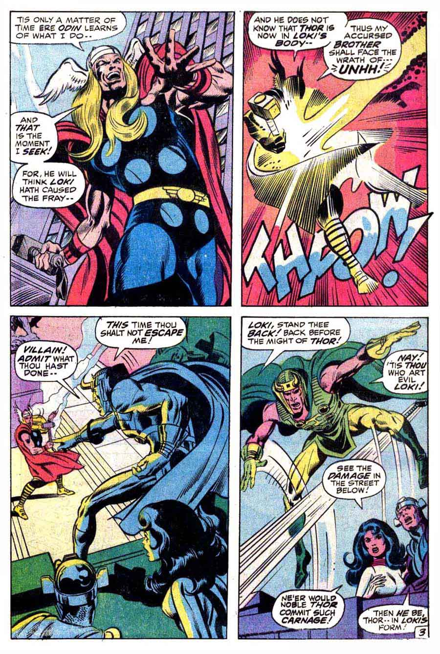 Thor v1 #180 marvel comic book page art by Neal Adams