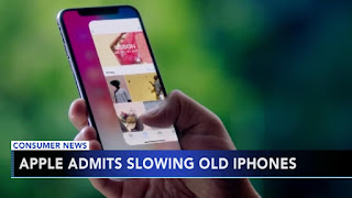 apple slows down older iphones