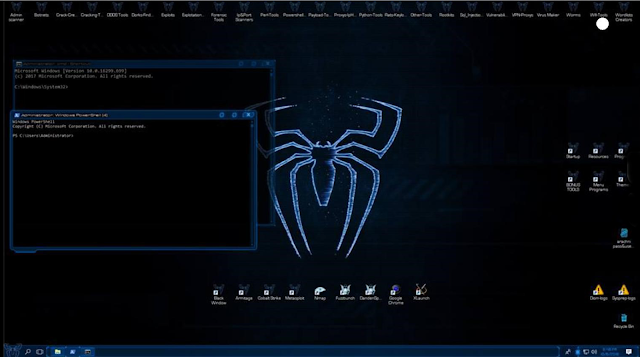 Windows Black Spider Edition Free Download