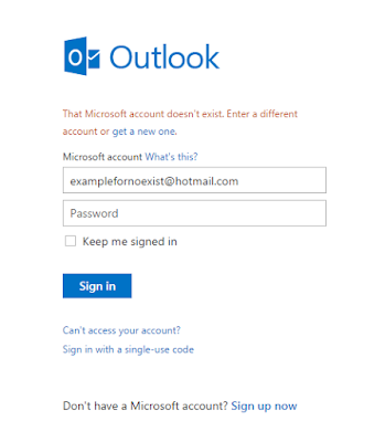 Account to login in hotmail How to