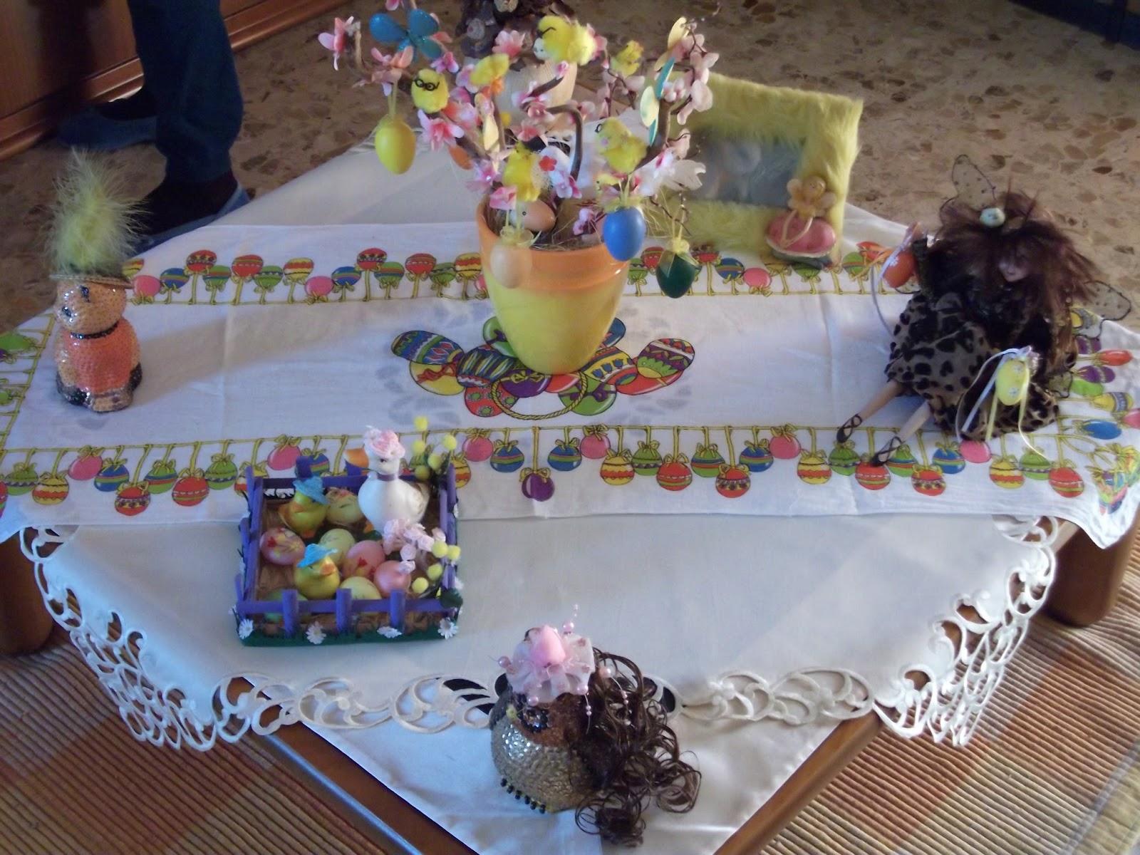 no solo de punto de cruz: idee creative:come decorare casa per pasqua - Arredare Casa Per Pasqua