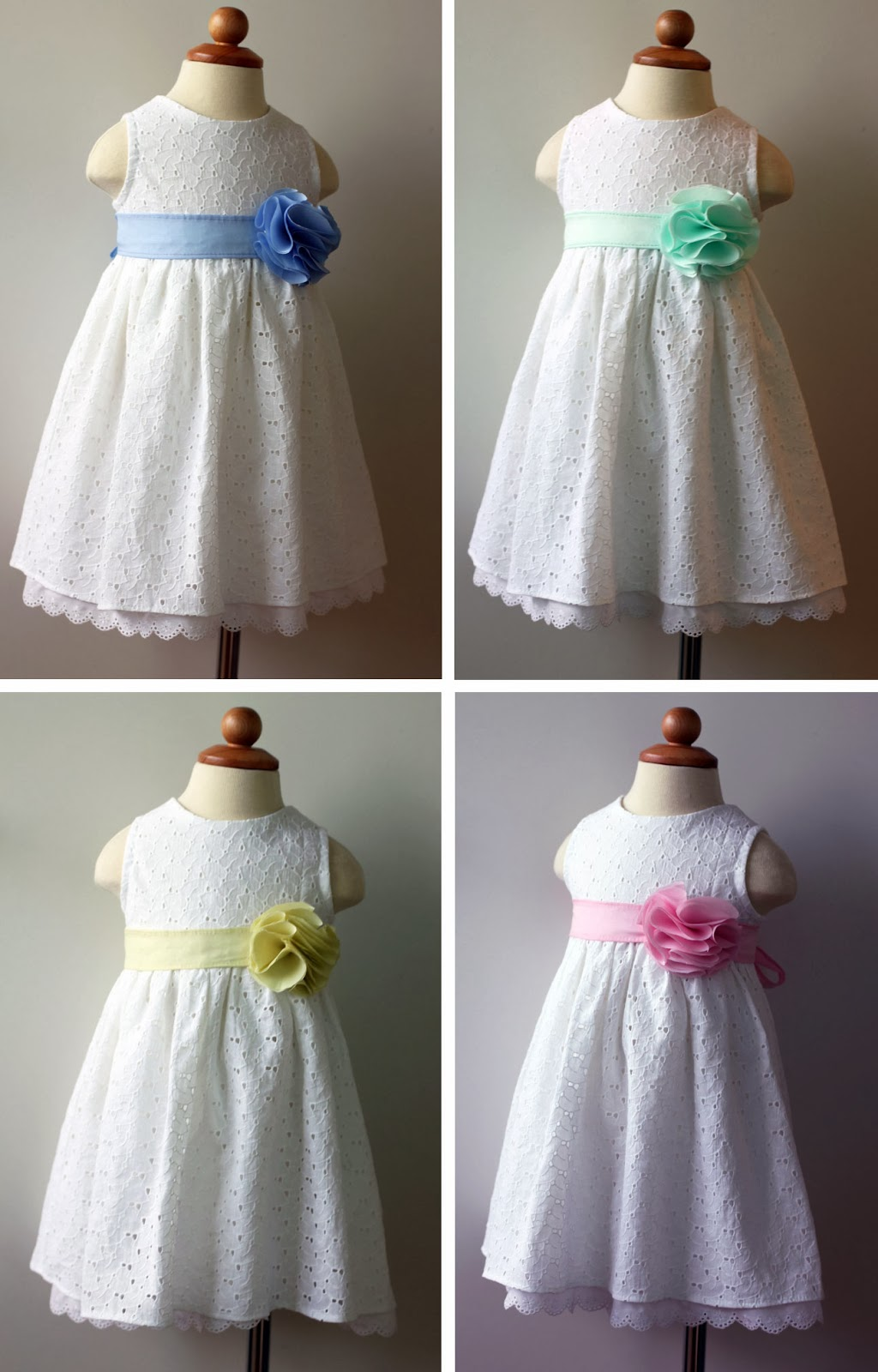 Pastel Flower Dresses